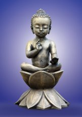 Buddha the child. 2011, bronze